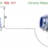 Zinc Plated YZL/ Chrome Plated YCL