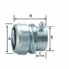Combination Coupling For Flexible Metal Conduit and EMT(YCN)