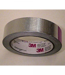 3M 1267 Embossed Aluminum Foil, Acrylic Adhesive (linered)