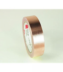 3M 1245 Embossed Copper Foil, Nonconductive Acrylic Adhesive (linered)