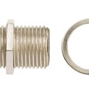 1GHz Female-to-Female F-Type Coaxial Adapter, Card of 10 (85-031)