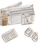 CAT 6 RJ-45 Modular Plugs, Pack of 25 (85-366)