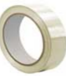 TC412 Clear UPVC Label Protection Tape