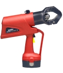 Burndy PAT644XT18V250V Battery Actuated Crimping Tool, Hydraulic Self Contained, 11 Ton Output Force