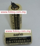 CR17335(Sanyo) Lithium 3V Non-Rechargeable