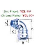 Liquid Tight Metal Connectors YZL/YCL