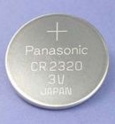 Non Rechargeable Coin Cell Battery CR2320